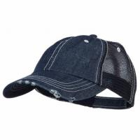 826f5541 China Special Cotton Mens Trucker Caps , Denim Low Profile Cool Trucker Hats  For Men on .