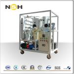 3000LPH Mobile Transformer Insulation Oil Purifier Single Axle Double Stage Vacuum System
