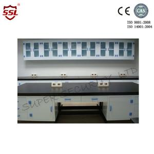 China Ploypropylene Anti-Acid Corrosive Storage Cabinet Wall Bench Laboratory Table Work Bench on sale
