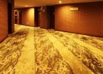Wool Loop Pile Commercial Grade Machine Tufted Carpet For Corridor , Casino