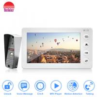 China Best Economic video door phone white doorbell camera video intercom with multi functions on sale