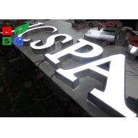 Front Lit 3D Logo LED Shop Display LED Channel Letter Signs For Outdoor Shop Display
