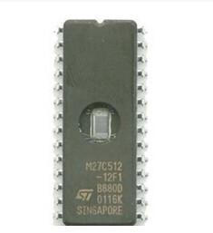 China Brand new M27C512-12F1 Auto memory chip M27C512 Auto ECU IC on sale
