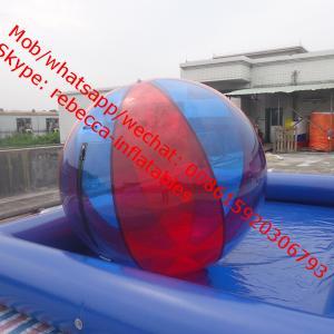 China InflatableWater Ball, Swimming Pool Game  inflatable water games Water Walking Ballequipment Aqua Sphere Zorb on sale