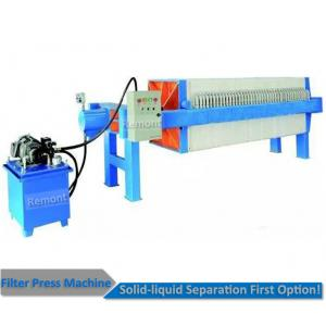 China Auto pull board pp plate filter press machine for solid liquid separation on sale