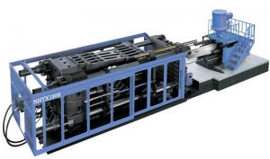 China Horizontal Plastic Injection Molding Machine 1800T For Automobile Bumper on sale