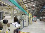 Single Face Micro Flute Corrugated Cardboard Machine Production Line Laminating Perfume