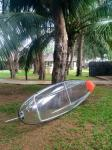 Light - Weight Polycarbonate Sea Kayak With Outrigger For 2 Person