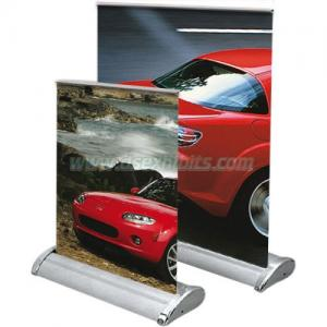 China Mini Roll up banner stand on sale