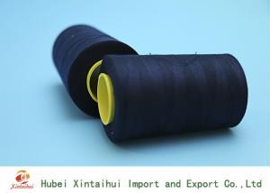China Ring Spun Polyester Dope Dyed Yarn Ne 24/2 , Colored 100 Spun Polyester Yarn on sale