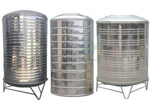 China Round Insulated Stainless Steel Water Tank 304 Cold Water Tower Water Storage Equipment Supply Customized on sale