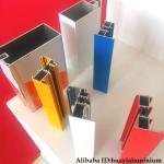China 6063T5 anodize silver aluminium window profiles and powder coated white door profiles wholesale