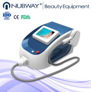 China Leading manuufactory supply mini 808 nm diode laser hair removal machine on sale