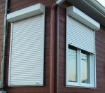 Move up Automatic Aluminum Shutter Blade Roller Windows Garden Doors