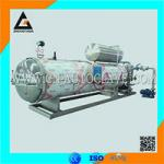 Horizontal Stainless Steel Tin Can Peanut Milk Sterilization Retort Machine