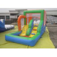 Outdoor Inflatable Backyard Pool Water Slide Climbing Fire-Resistant