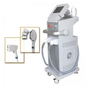 China 808 Laser IPL Multi Function Laser 2 Handpiece For Hair Removal And Photo Rejuvenation on sale