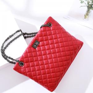 China Shoulder Bags For Womens Handbag,Chains Totes Bags,Small Fashion Hobo Satchels-Black Color And Red Color on sale