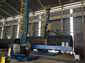 China MIG / ARC Welding Manipulator Machine Automatic With Lubrication supplier