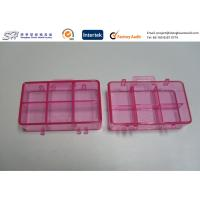 China Transparent Plastic Enclosure , Custom Plastic Enclosures Injection Molded Products on sale