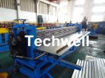 Máquina del corrugación del barril G550, máquina horizontal del corrugación para las hojas acanaladas de 0.18-0.35m m
