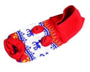 China XS , XXL , XXXL Christmas dog clothes autumn and winter Warm Costume Outfit Apparel on sale