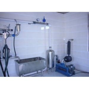 China Pipeline Cow / Goat Milking Parlor With A Milk Transport Conduit on sale