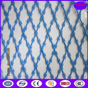 China high security Bto-22 razor flat welded wire mesh factory on sale