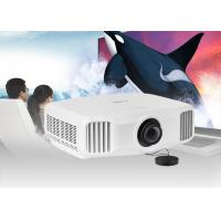 3LCD Full HD LED Video Projector Connect Android WiFi Phone With RJ45 Port
