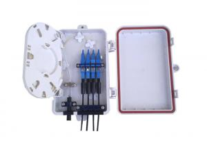 China Fiber Optic Splitter Distribution Box FTTH With 4 port SC FC ST LC Connectors on sale