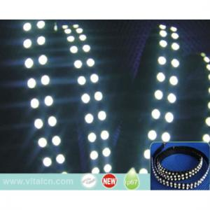 China Coppered PCB High Brightness ADC24V 14W  Flexible LED Strip Lights For Restaurant Lighting on sale