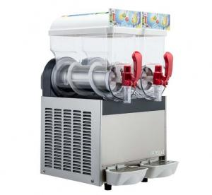 China 300W 15L×2 Ice Slush Machine With Double Tank For Making Beverage , 110V - 115V on sale