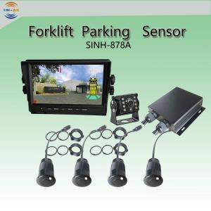 China Heavy Duty 4 Sensors Reversing Ultrasonic Parking Sensor System for Trailers/Trucks on sale