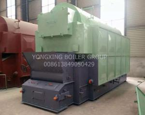 China Automatically Wood Chip Biomass Boiler / Coconut Shell Fuel Wood Pellets Boiler supplier