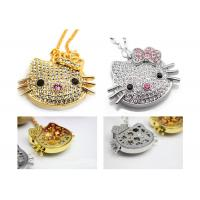 China Jewelry  Hello Kitty Fancy USB Flash Pen Drive 8gb For Wedding Gift on sale
