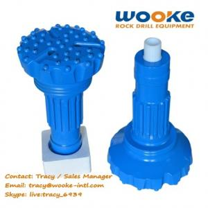 China DTH Drilling Rig Tools High Air Pressure Rock Drill DTH Hammer Button Bits on sale