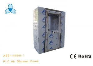 China PLC Control Stainless Steel Clean Room Air Shower Room With Alcohol Spring Machine on sale