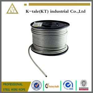 China 7x19 Nylon coated steel wire rope on sale