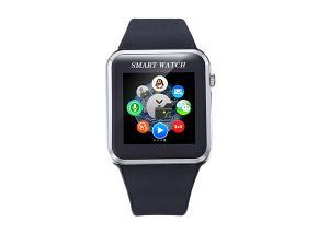China Bluetooth  Smart Watch With Camara And Pedometer  ,Andriod Black Wrist Watch on sale