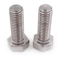 China Carbon Steel Hex Head Bolt Din933 Stainless Steel Stud Bolt Double End Studs on sale