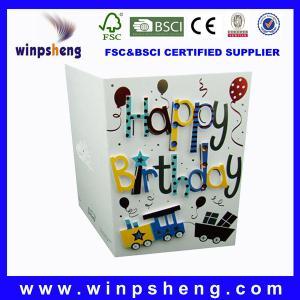 China birthday greeting cards on sale