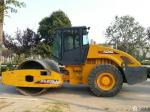 Single Drum Vibratory Second Hand Road Roller , XCMG Pneumatic Roller Compactor