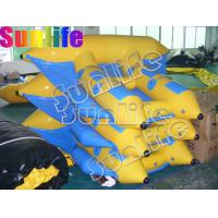 China inflatable Stimulate flying fish blue and yellow boat MB009 for flying on sale