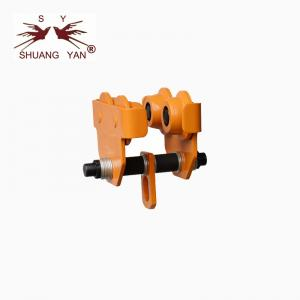 China Push Beam Trolley Adjustments Quick Double Sealed Ball Bearings High Safety on sale