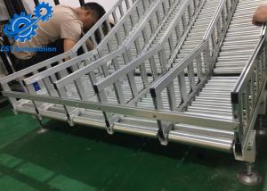 China Aluminium Profile Automated Conveyor Systems , Roller Conveyor System For Desiccant Bags on sale