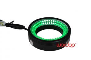 China 30° Angle Aluminum Alloy LED Ring Illumination for Continuous / Pulse Operation on sale