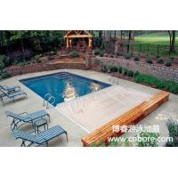 High quality automatic safety swimming pool cover with track from China golden supplier