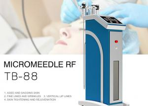 China 0.5 - 3mm Vertical Fractional RF Microneedle Machine For Wrinkle Removal & Skin Whitening on sale