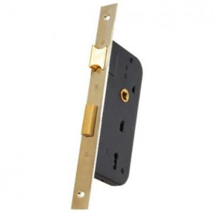 China Household Security Rim Lock / Mortise Door Lock With Brass Fitting 032-40K on sale