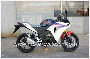 China 200cc Drag Racing CBR Motorcycles / Honda Sports Car With Two Wheel And 4 Stroke on sale